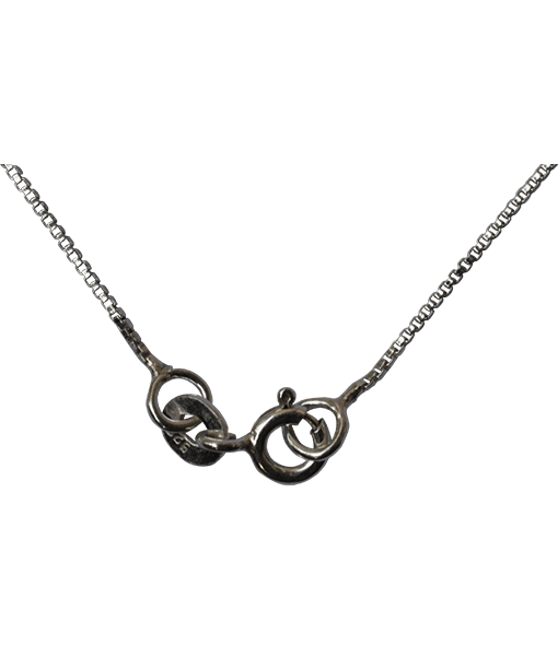 a9c7e81fb Sterling Silver Box Chain - 45 cms - Silver Beads and Findings