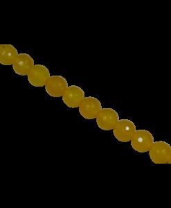 Yellow Onyx Beads