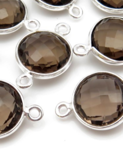Bezel Gemstone Connectors